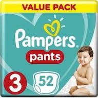 Pampers Baby Dry Pants Maat 3 - 52 Luierbroekjes