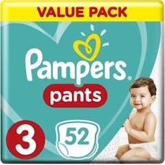 Pampers Baby Dry Pants Große 3 - 52 Windelhosen