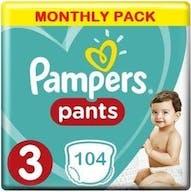 Pampers Baby Dry Pants Große 3 - 104 Windelhosen