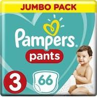 Pampers Baby Dry Pants Maat 3 - 66 Luierbroekjes Voordeelverpakking