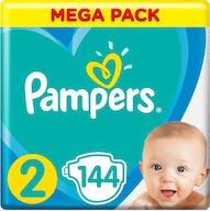 Pampers Active New Baby Luiers Maat 2 - 144 Voordeelverpakking
