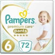 Pampers Premium Care Pants Maat 6 - 72 Luierbroekjes Voordeelverpakking