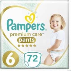 Pampers Premium Care Pants Maat 6 - 72 Luiers Voordeelverpakking