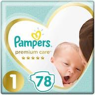 Pampers Premium Care Luiers Maat 1 - 78 Luiers