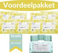 Pura Voordeelpakket - 2 Maandboxen Maat 2 + Gratis 672 Pura Babydoekjes