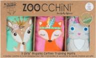 Zoocchini Oefenbroekjes 3 Stuks Girl Princes 3-4 jaar