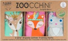 Zoocchini Oefenbroekjes 3 Stuks Princes Girl 2-3 jaar
