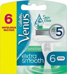Gillette Venus Extra Smooth Sensitive Scheermesjes 6 stuks